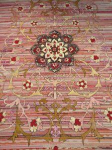 Persian rug painting